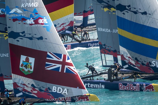 Land Rover Bar Academy dominates in Red Bull Youth America's Cup