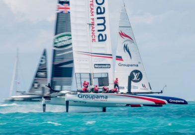 Cammas' team will take part in next America's Cup