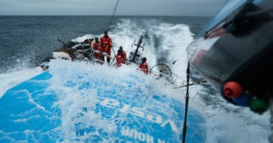 Vestas 11th Hour Racing Training